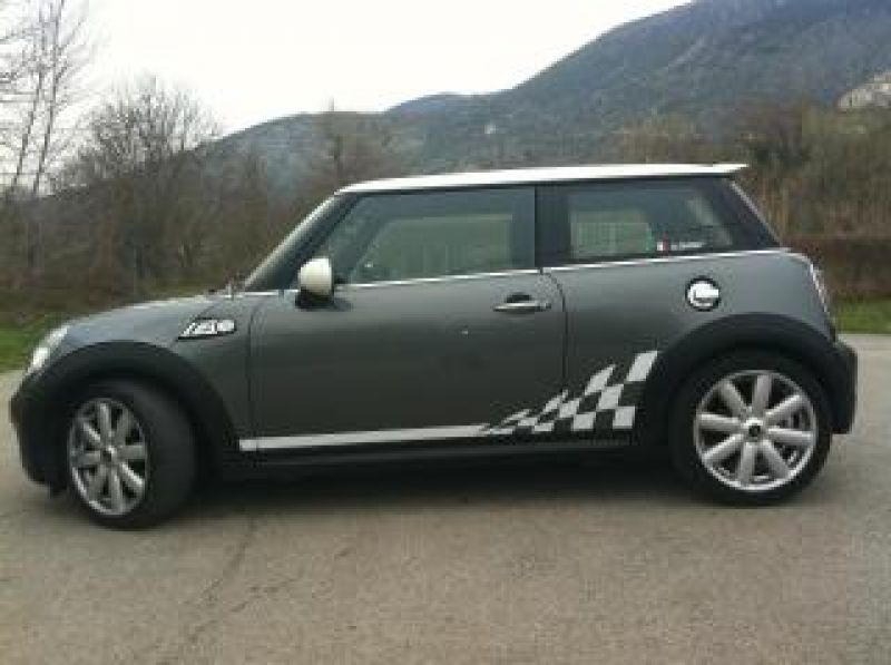 Side Stripes Style Duell AG su cooper S r56