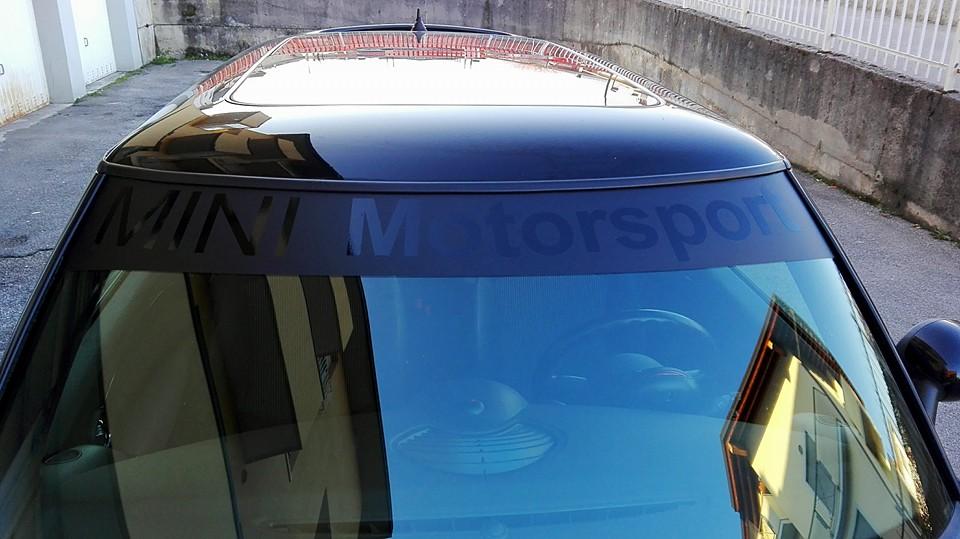fascione parasole mini motorsport