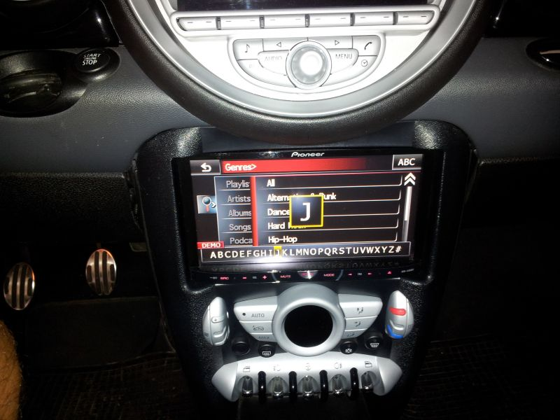 supporti 2 din phonocar per autoradio non mini  su r56