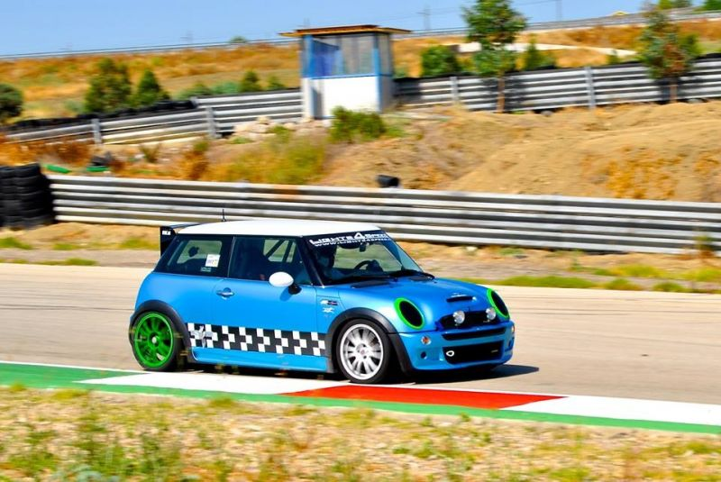 MINI COOPER S R53 TIME ATTACK SICILY