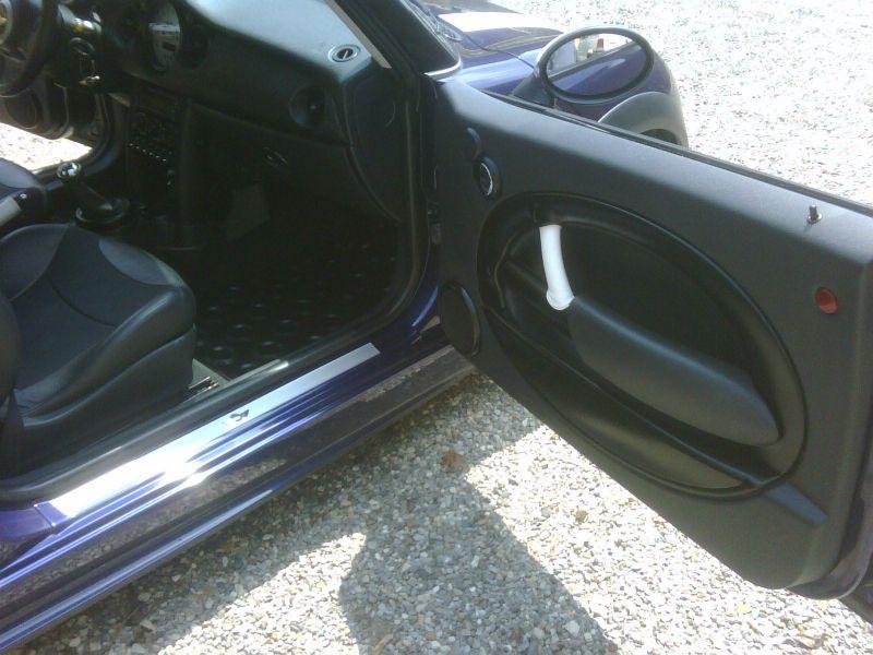 Pannelli porta verniciati nero opaco