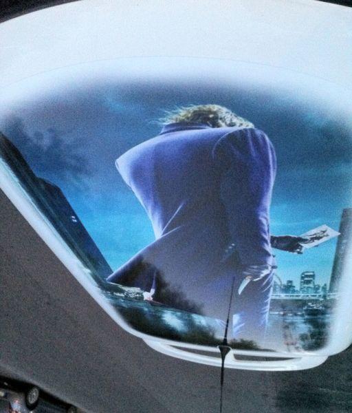 grafica personalizzata di Joker su tetto mini