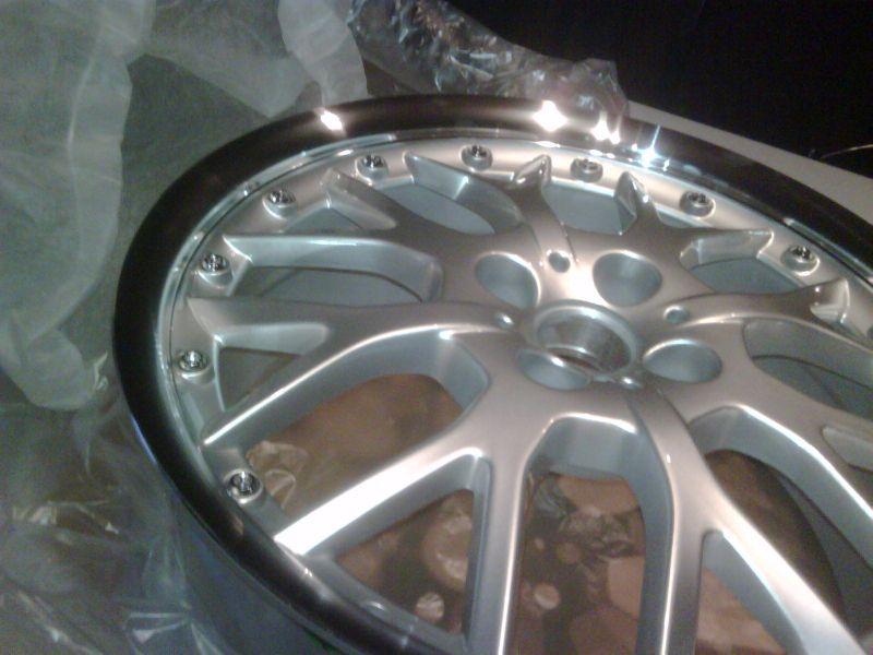 cerchi Thunder replica WSP italy  silver classic 2