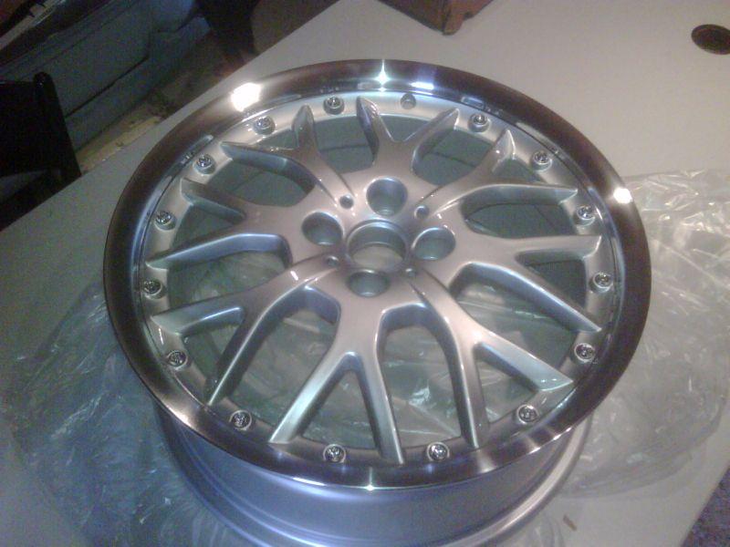 cerchi Thunder replica WSP italy  silver classic