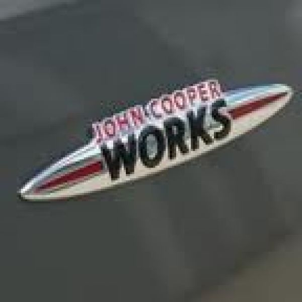 BADGE JOHN COOPER WORKS   JCW :