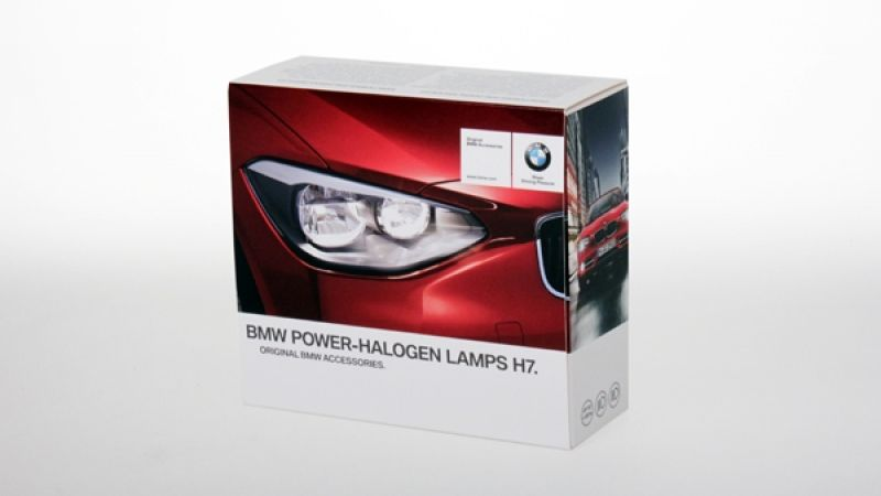 BWM HALOGEN  POWER LAMPS H7 55W :