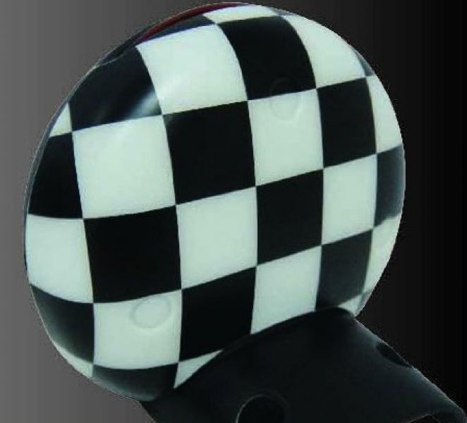 COVER CONTAGIRI A SCACCHI CHECKERED   MINI R55/56/57/58/59/60/61 :