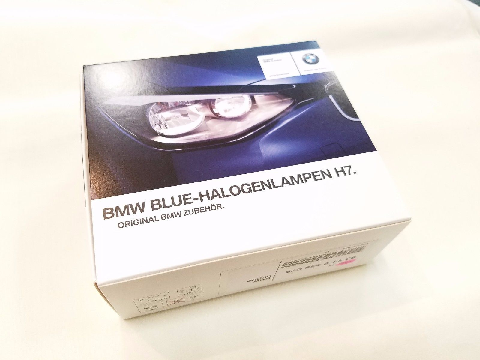 BWM  MINI BLUE HALOGEN LIGHTS H7 55W :