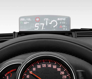 MINI Head-Up Display screen :