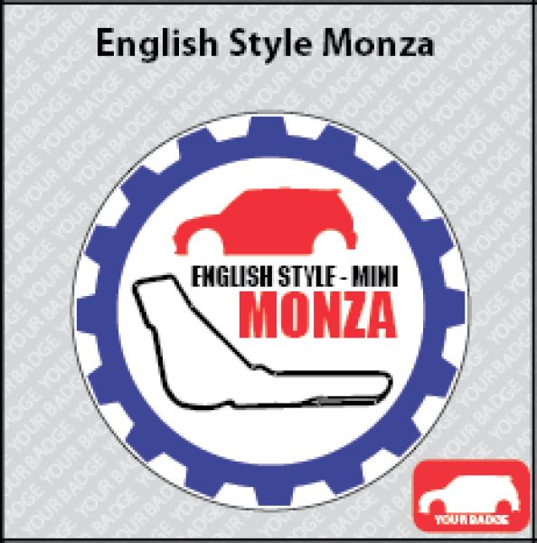 BADGE  ENGLISH STYLE MONZA TOP: