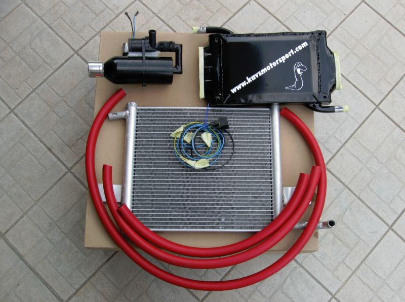INTERCOOLER ARIA/ACQUA KAVS MOTORSPORT: