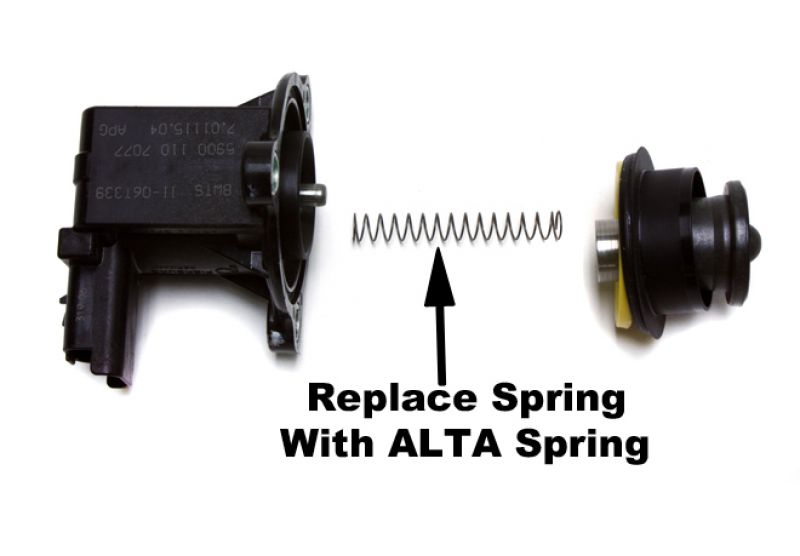 BLOW OFF VALVE SPRING UPGRADE FOR R56 TURBO ENGINE ALTA  PERFORMANCE:
