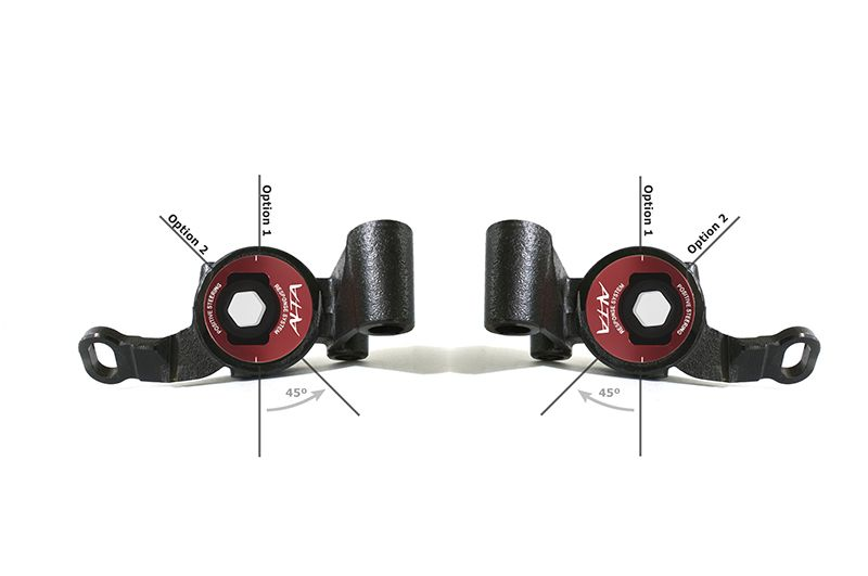 ALTA PERFORMANCE FRONT CONTROL ARM BUSHING UPGRADE KIT - POSITIVE STEERING RESPONSE SYSTEM (PSRS):