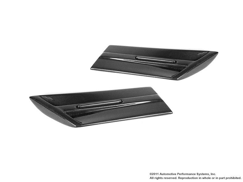 SIDE SCUTTLES CON FRECCIA A LED IN CARBONIO  NM NEUSPEED :